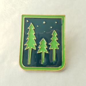 {5/$25} nighttime pines pin
